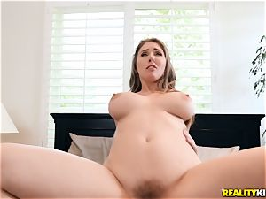 Lena Paul is naughty and rails on top