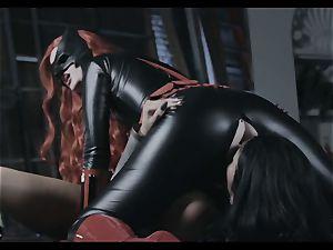 Justice League xxx part 3 - Romi Rain and Charlotte Stokley