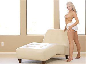 observe her unclothe and make herself spunk