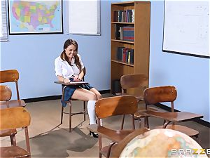 Darling college girl Dillion Harper gets poked by her lecturer