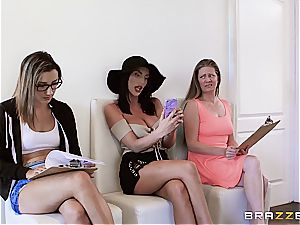 impressive breezy August Ames becomes the greatest Hollywood tart