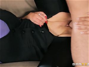 Nikki Benz and Bridgette B get dirty with the security dude