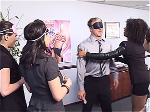 Getting insatiable in the office part 1