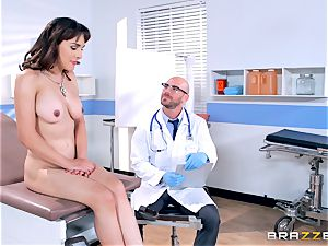 Cytherea is left unloading as she visits the doctor