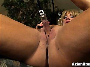 gash pumping clitoris fun with a magnificent intense gals