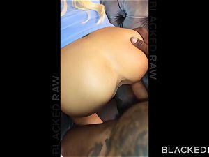 BLACKEDRAW Adriana Chechik Has 3AM dual bbc longing