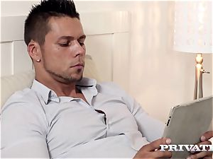 Private.com - ultra-kinky twins sharing a penis