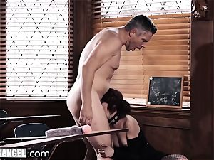punk jacking In Detention is anally punished