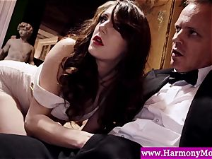 Servants giving a sexshow for their deviant lecturers