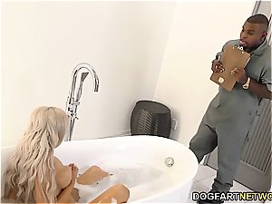 cheating bf watches Nina Elle gets humped by bbc