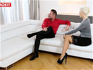 mother and Stepdaughter take excellent care of their Step father