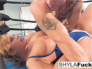 gorgeous Shyla gets some teaching