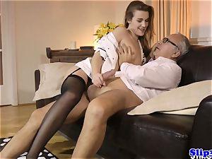 Eurobabe nurse drills mature duo