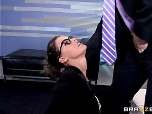 Peta Jensen gives her customer some serious hump therapy