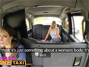 girl faux taxi chesty ash-blonde in g/g sexual anal