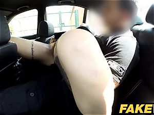 fake Cop Copper ejaculates over geeky damsels glasses
