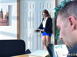 Britney Amber getting penetrated in her culo and poon