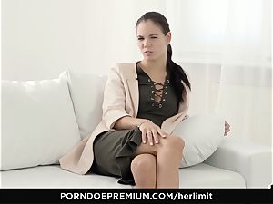 HER restrict - Lovenia Lux hard-core anal invasion drill and gape