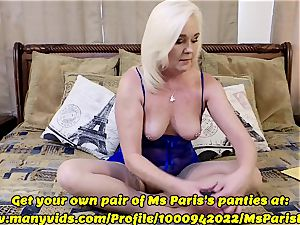 Ms Paris flashes Her Sold ManyVids panty preparation