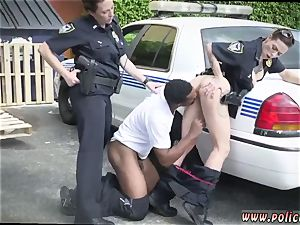 handsome blonde milf gets very first time I will catch any perp with a thick black stiffy, and
