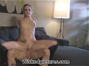 Rampant role have fun for Bailey Blue and a super-hot dude