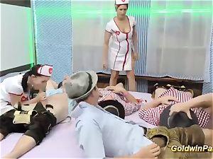 Oktoberfest after soiree with super-fucking-hot nurses