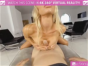 VR PORN-Nicole Aniston Gets drilled rock-hard and gargles