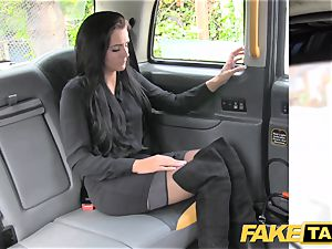 fake taxi dark haired club dancer works her magic for ride