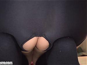 Yuri Sakurai - japanese college girl buttfuck deflowering