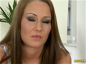 Angel Blade earns her rent money