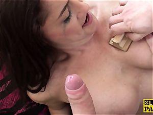 cum-swallowing uk slave inhaling maledoms man sausage