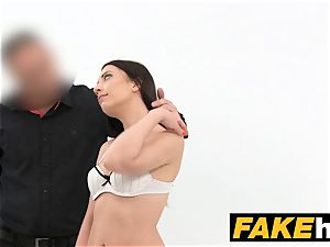 fake Agent innocent gorgeous dark haired loves gargling