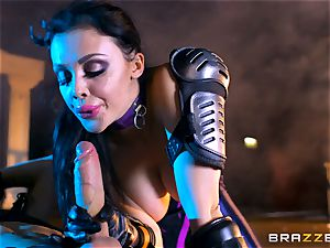 Aletta Ocean jammed with the monster bone of Danny D