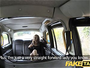 fake taxi Posh dolls swollen cunny and rump plumbed