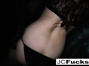 insatiable Jayden Cole taunts and satiates herself