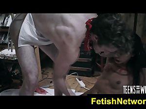 TeensInTheWoods Gina Valentina orgy victim