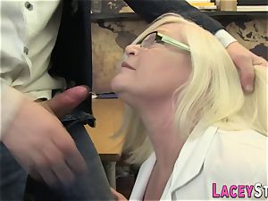 Mature physician booty porked