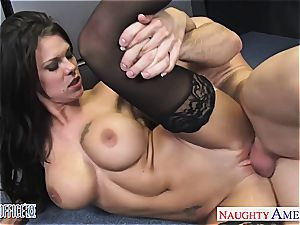 flawless Peta Jensen super-naughty for his meaty rod at the office