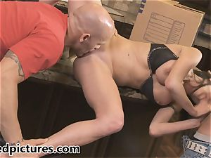 Veronica Avluv gets her vengeance with a sizzling three way