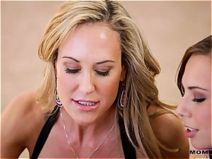 Moms teach romp - mummy seduces her virgin stepson