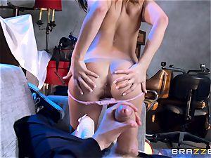 Ashley Adams romps the enemys meaty long cock
