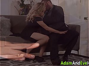 uber-sexy duo Mia Malkova and Danny Mountain plowing